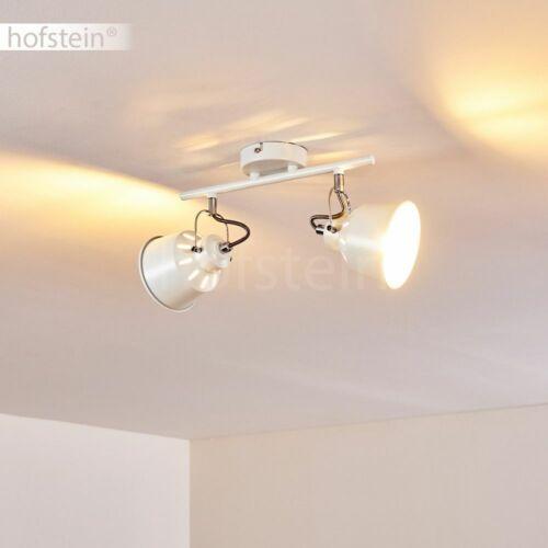 Flur Dielen Strahler Vintage Decken Lampen weiß Wohn Schlaf Zimmer Beleuchtung