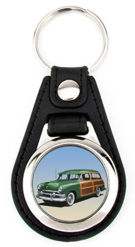 Ford 1951  Woody Station Wagon or Sedan Key Fob