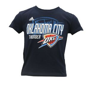designer fashion 1aade 75477 Details about Oklahoma City Thunder Official NBA Adidas Youth Kids Size  T-Shirt New with Tags