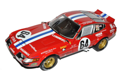 Ferrari 365 GTB//4 5th Daytona 24H Nr 64 1977 1//18 Kyosho Modell Auto mit oder oh