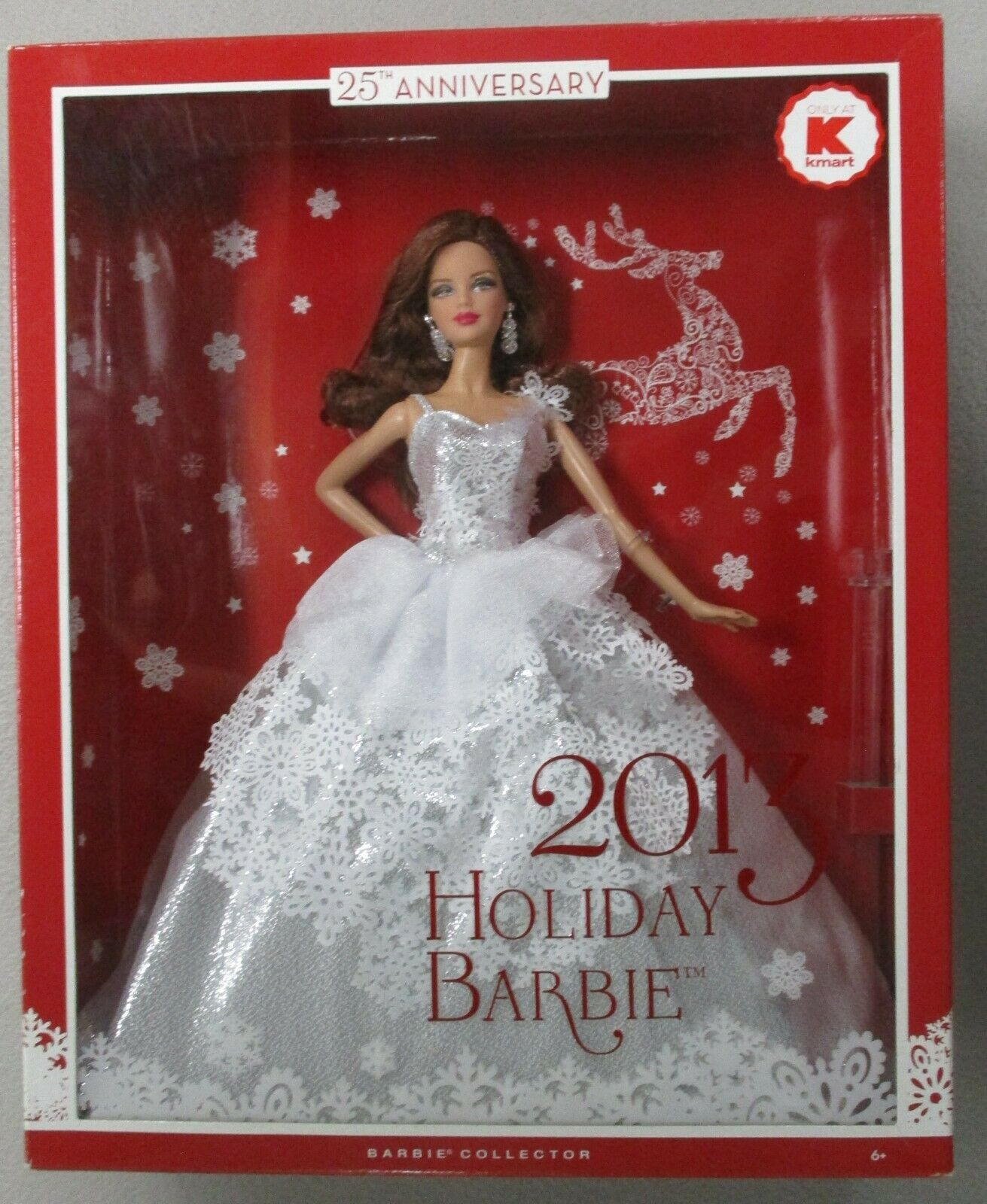 Barbie 2013 Holiday specialee KMart Exclusive bambola Auburn rossohead Hair Rare