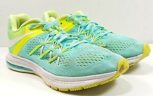 online store 11e80 af2ab Image is loading NIKE-Zoom-Winflo-3-Running-Shoes-Hyper-Turquoise-