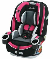 Graco Baby 4ever All-in-1 Convertible Car Seat Infant Child Booster Azalea