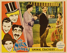 Animal Crackers 11 x 14 Lobby Card LC Marx Brothers  Groucho Lillian Roth