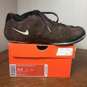 brown athletic shoes