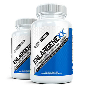2x ENLARGENEXX  #1 Male Enhancement Pills for Growth (60 Capsules Each)