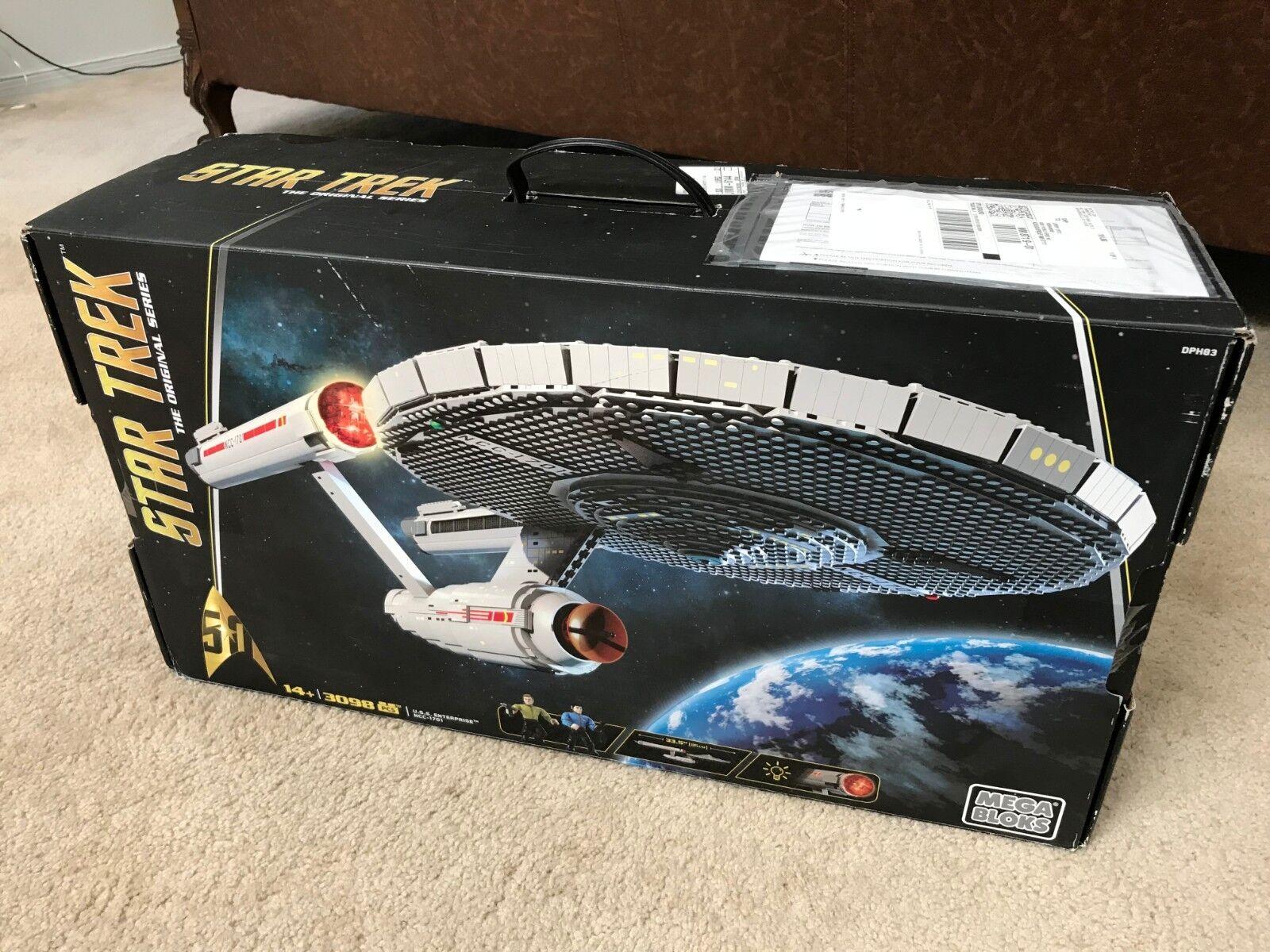Mega Bloks  STAR TREK USS ENTERPRISE NCC-1701 NCC-1701 NCC-1701 459ac8