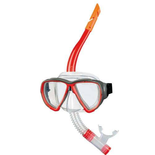 BECO Maske Schnorchel Set RotTauchermaske Tauchmaske Tauchbrille NEU+OVP
