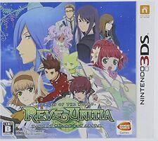 Nintendo 3DS Tales Of The World REVE UNITIA Japan