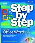 Microsoft Office Word 2007 Step by Step by Joan Preppernau, Joyce Cox (Mixed media product, 2007)