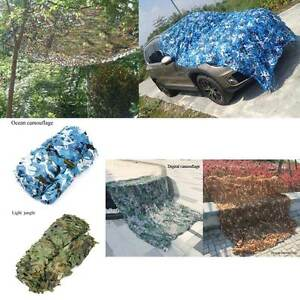 Woodland Camouflage Netting Military Camo Hunting Cover Net Backing Camping