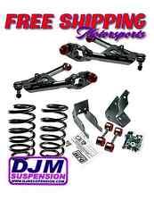 "DJM Suspension 2000-2006 Tahoe Yukon 3-5"" Drop Kit Key Coil Control Arm Lowering"