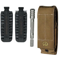 Leatherman Xl Brown Molle Sheath F/ Mut Super Tool 300 Surge +bit Kit + Extender on sale