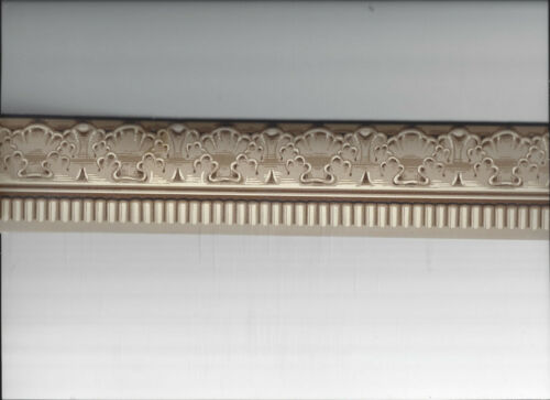 WALLPAPER MINI BORDER CHAIR RAIL DOLL HOUSE ARCHITECTURAL MOULDING CLASSIC NEW