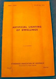 STANDARDS-ASSOCIATION-OF-AUSTRALIA-artificial-lighting-of-dwellings-MAY-1954