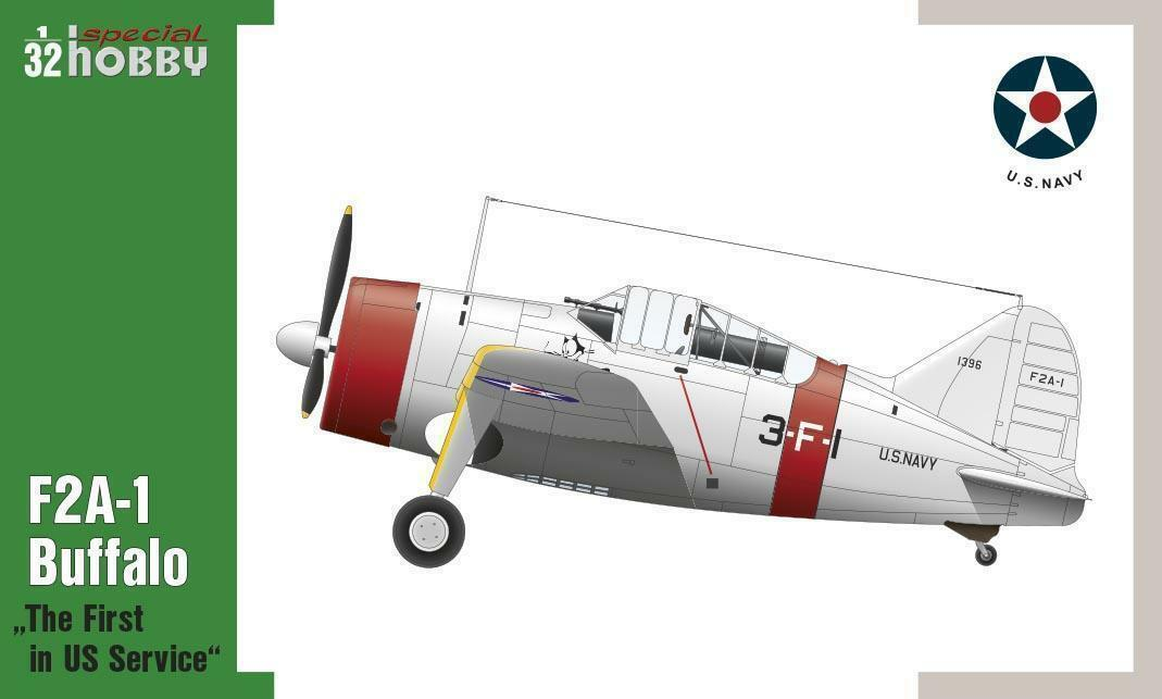 Special Hobby ® 32064 F2A-1 Buffalo The First in US Service U.S. Navy 1 32  | Exquisite (in) Verarbeitung
