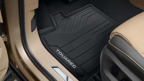 Original VW Touareg 76 ab 2018 Gummimatten v+h Gummifußmatten schwarz 761061500