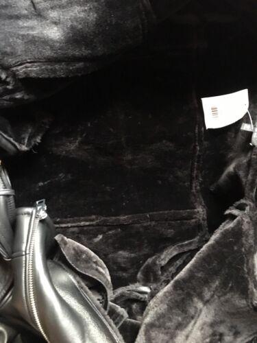 De Topshop Des Cuir Simili Superbe Neuf Biker En Tags Uk12 Cuir Veste Avec Taille 5xqHwZ0