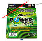 POWER PRO FILO TRECCIATO MT 275 0,23 mm colore VERDE originale USA new 2013