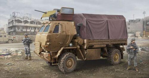 Trumpeter-01009-1-35-US-M1078-LMTV-Armor-Cab-Standard-Cargo-Truck