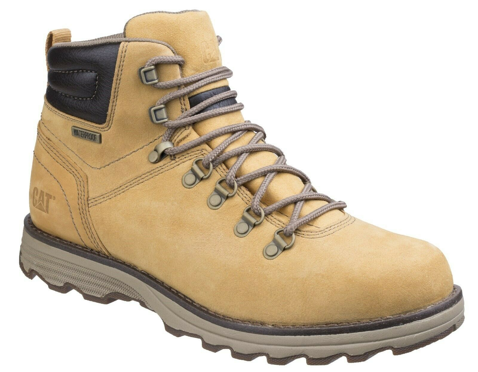 Caterpillar CAT Lifestyle Sire honey leather waterproof lace up Stiefel