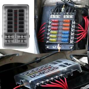 12-Way-Blade-Fuse-Auto-Block-Box-Holder-Indicator-12V-ATC-ATO-Circuit-Car-Boat