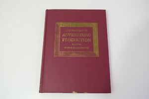 The-Techniques-of-Advertising-Production-Thomas-Blaine-Stanley-1956-2nd-Edn