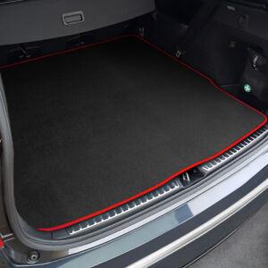 To Fit Volkswagen Jetta Boot Mat (2005 - 2010) Black Tailored