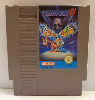 Console Gioco Game NINTENDO 8 BIT PAL A MEGAMAN 3 Mega Man NES-XU-ITA-1 Capcom