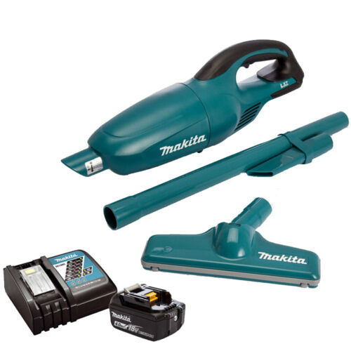 Makita DCL180Z 18 V sans fil aspirateur avec 1 x 4Ah BL1840 Batterie /& Chargeur