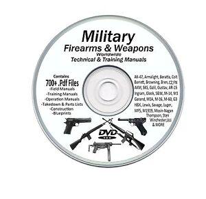 Military manuals 700 rifle pistol machine gun weapons bonus books image is loading military manuals 700 rifle pistol machine gun weapons fandeluxe Images