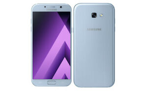 New-SAMSUNG-Galaxy-A5-A520W-2017-Canadian-Version-Blue-Mist
