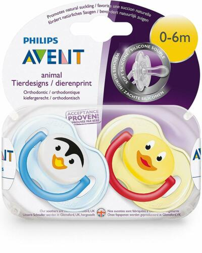 Philips Avent Classic Soother 0-6 Boy