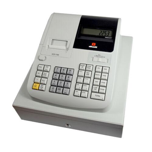 OLIVETTI ECR 7190 registratore di cassa negozio fino a
