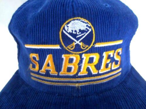 NHL USA Hockey  Cap Buffalo Sabres licensierte Cordcap Kappe bestickt  blau one