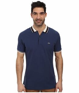 About Pique With Details Slim Polo Piping Lacoste Fit Neo Ybf7gyvI6m