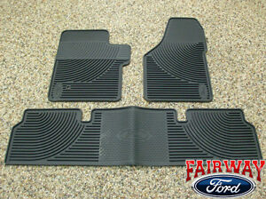 06 07 08 09 10 Super Duty F250 F350 Oem Ford Rubber Floor