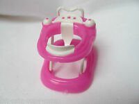 Pink Barbie Shelly Doll Sized Baby's Activity Centre Stroller Uk Seller Free P&p