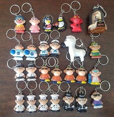Details about  /A lot of 24 Star Awards Ducky Figurines keychain Key Ring.#1014857