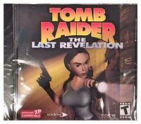 Tomb Raider The Last Revelation (pc) Brand Sealed - Win10, 8, 7, Xp - Nice
