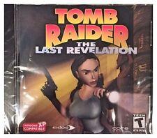 TOMB RAIDER THE LAST REVELATION (PC) BRAND NEW SEALED - WIN10, 8, 7, XP - NICE