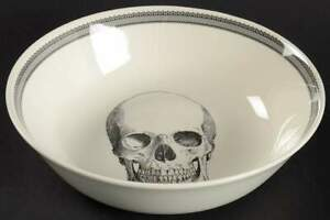 Victorian-English-Pottery-SKULL-Skull-Soup-Cereal-Bowl-10506493