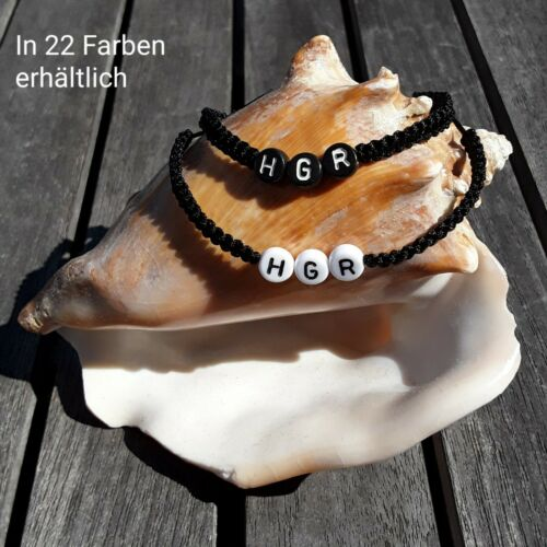 DIY Individuelles Armband mit Name Wunsch Namensarmband personalisiert Geschenk