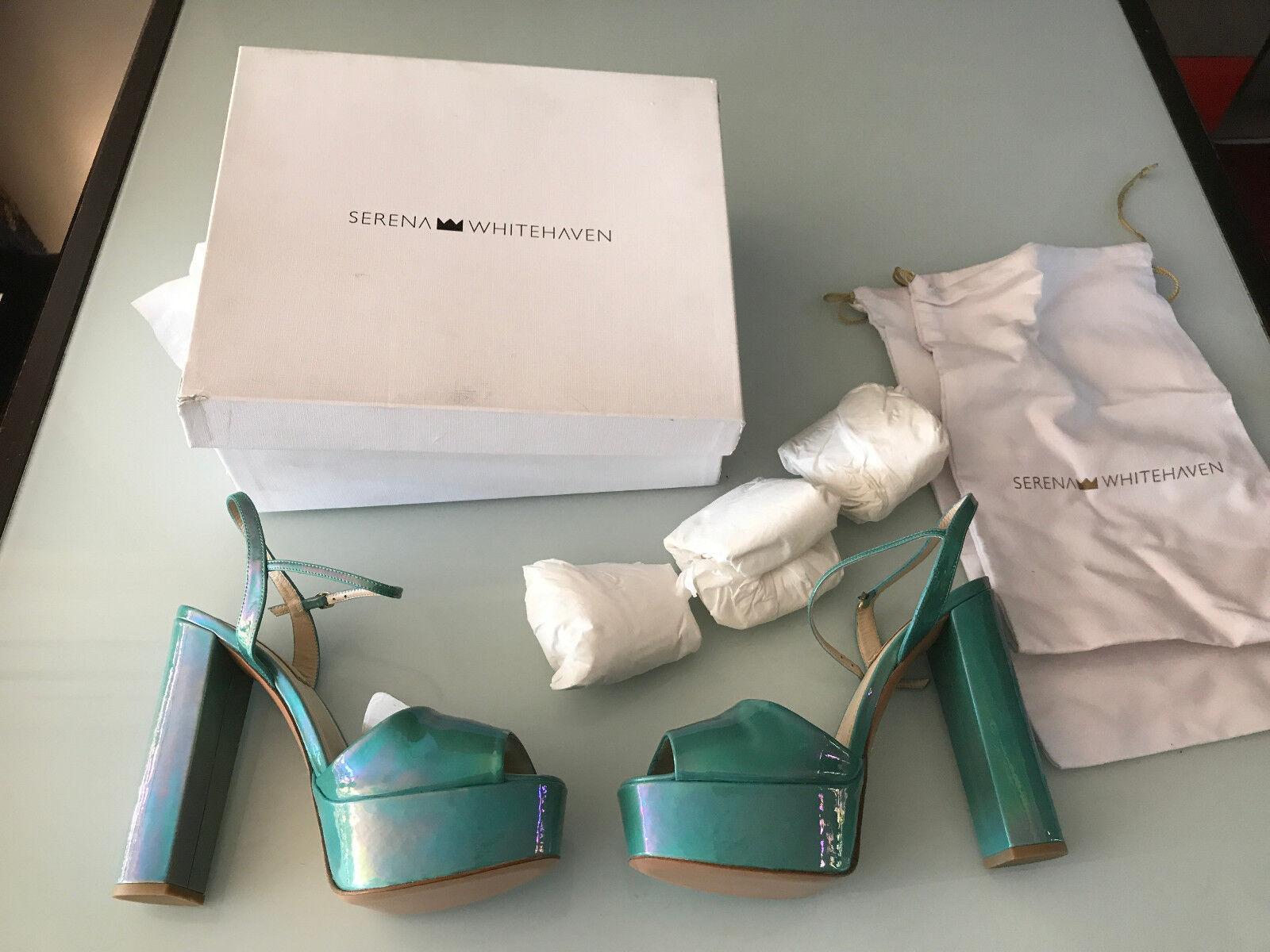 memorizzare scarpe de luxe serena biancahaven ref ref ref petrol aquamarine Dimensione 40  negozio outlet