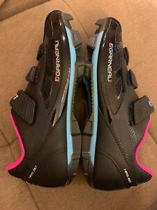8c8095082 LOUIS GARNEAU Women's Multi Air Flex Bike Shoes Black Pink US 8.5 9 ...