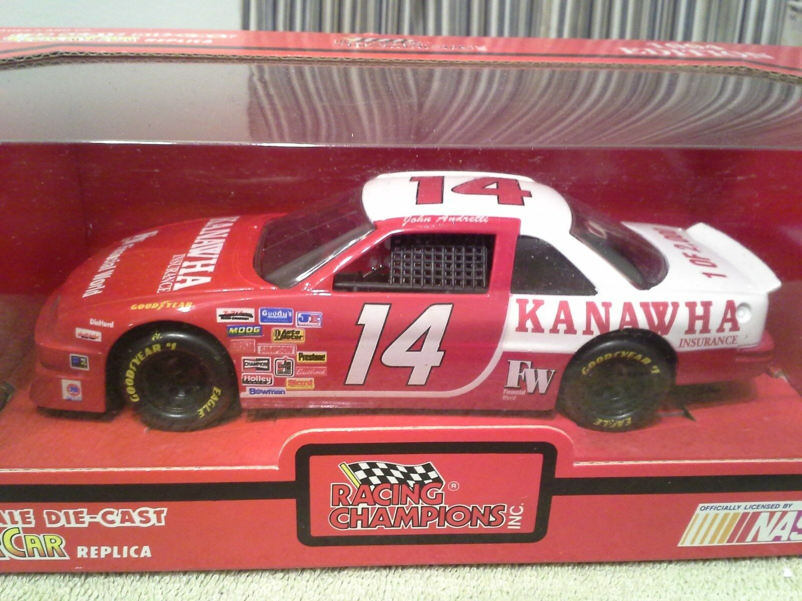 1994 Racing Champions JOHN ANDRETTI Kanawha Insurance Nascar  24 Diecast