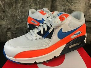 0579371da5 Nike Air Max 90 Essential AJ1285-104 Photo Blue Orange New 2019 ...