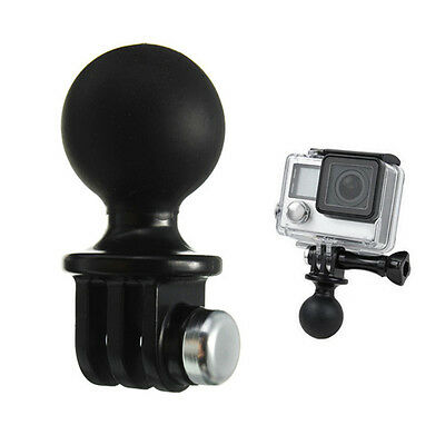 Portable RAM Mount Tripod Ball Adapter Head For GoPro Hero 1 2 3 3+ 4 Camera