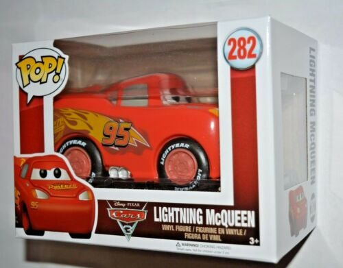 Disney Cars 3//FLASH MCQUEEN Nº 282 Vinyle personnage environ 10 cm Grand Funko Pop