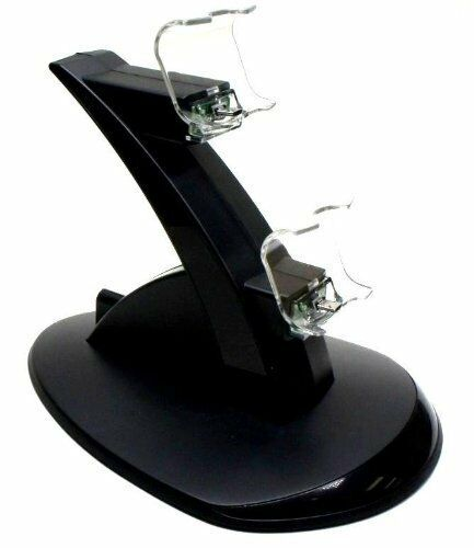 Zettaguard Dual Charging Station Charger for PS4 Controller
